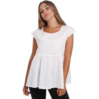 Vêtements Femme Tops / Blouses NeroGiardini E062761D Blanc