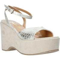 Chaussures Femme Sandales et Nu-pieds Grace Shoes 104003 Beige
