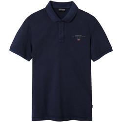Vêtements Homme Polos manches courtes Napapijri NP0A4EGC Bleu