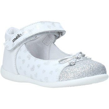 Chaussures Fille Ballerines / babies Melania ME0100A0S.A Blanc
