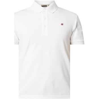 Vêtements Homme Polos manches courtes Napapijri NP0A4E2M Blanc