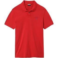 Vêtements Homme Polos manches courtes Napapijri NP0A4E2L Rouge