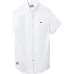 Vêtements Homme Chemises manches courtes Napapijri NP0A4E2T Blanc