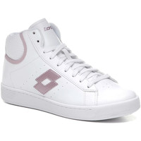Chaussures Femme Baskets montantes Lotto 212080 Blanc