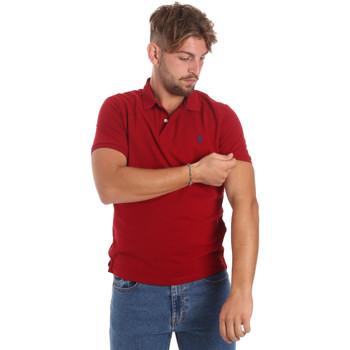 Vêtements Homme Polos manches courtes U.S Polo Assn. 55957 41029 Rouge