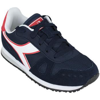 Chaussures Enfant Running / trail Diadora simple run gs c1512 Bleu
