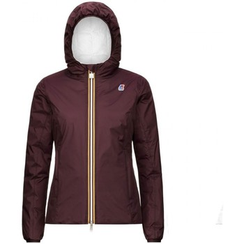 Vêtements Femme Blousons K-Way | Lily Thermo Plus 2 Double, Marron | KWAY_K111BHW A3M Marron