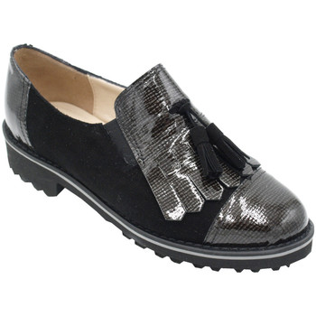 Chaussures Femme Mocassins Angela Calzature ANSANGC101nr nero