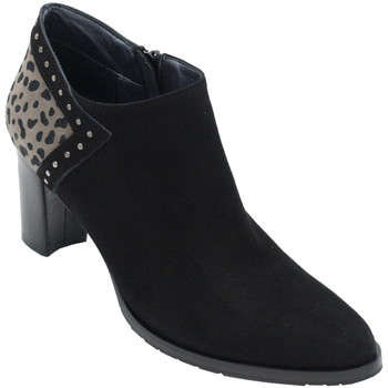 Chaussures Femme Low boots Angela Calzature ANSANGC283nr nero