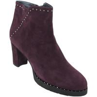 Chaussures Femme Bottines Angela Calzature ANSANGC286bd nero