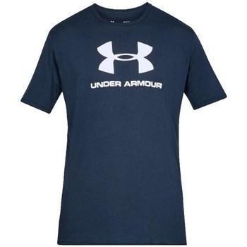 Vêtements Homme T-shirts manches courtes Under Armour Sportstyle Logo Tee Bleu marine