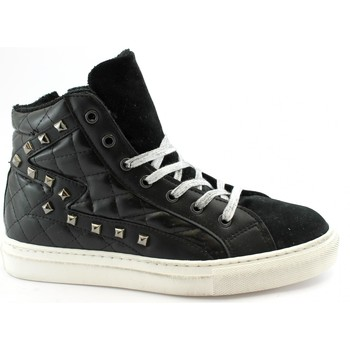 Chaussures Femme Baskets montantes Divine Follie DIV-I20-A102M-NE Nero