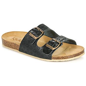 Chaussures Femme Mules Kickers ECOLOG Noir