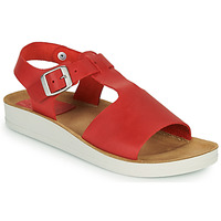 Chaussures Femme Sandales et Nu-pieds Kickers ODILOO Rouge