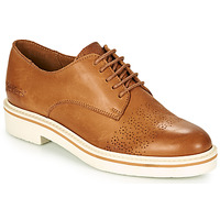 Chaussures Femme Derbies Kickers OXFORK Camel