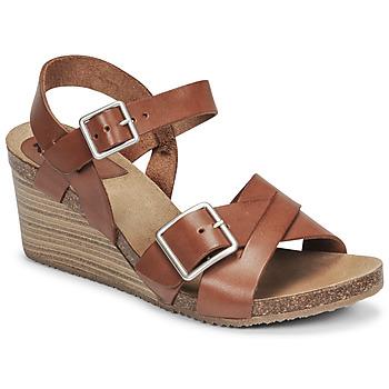 Chaussures Femme Sandales et Nu-pieds Kickers SPAINSTRAP Marron