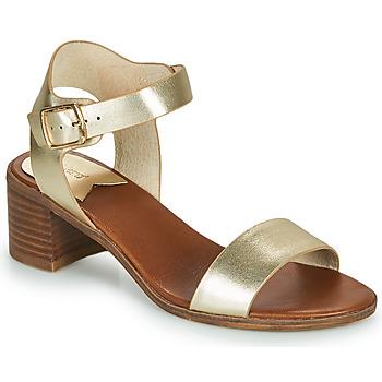 Chaussures Femme Sandales et Nu-pieds Kickers VOLOU Or