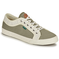 Chaussures Homme Baskets basses Kickers ARVEIL Kaki / Blanc