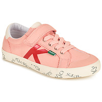 Chaussures Fille Baskets basses Kickers GODY Rose