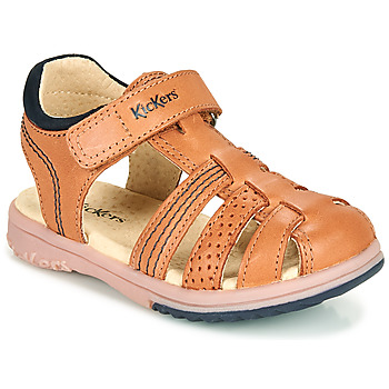 Chaussures Garçon Comme Des Garcon Kickers PLATINIUM Camel
