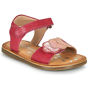 Chaussures Fille Comme Des Garcon Kickers DYASTAR Rose
