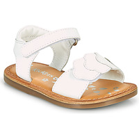 Chaussures Fille Sandales et Nu-pieds Kickers DYASTAR Blanc