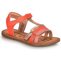 Chaussures Fille Sandales et Nu-pieds Kickers DIAMANTO Rose