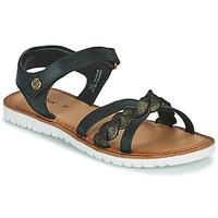 Chaussures Fille Sandales et Nu-pieds Kickers BETTYL Noir