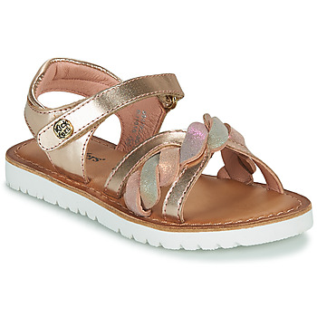 Chaussures Fille Sandales et Nu-pieds Kickers BETTYL Rose
