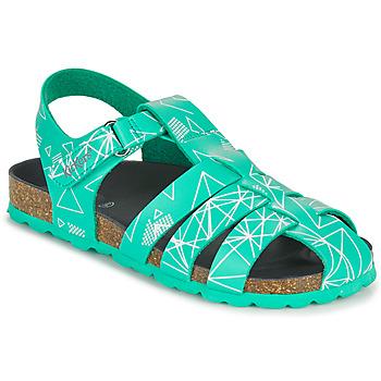 Chaussures Garçon Sandales et Nu-pieds Kickers SUMMERTAN Vert