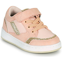 Chaussures Fille Baskets basses Kickers BISCKUIT Rose