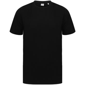 Vêtements T-shirts manches courtes Sf SF253 Noir / blanc