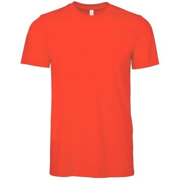Vêtements T-shirts manches courtes Bella + Canvas CV3001 Rouge
