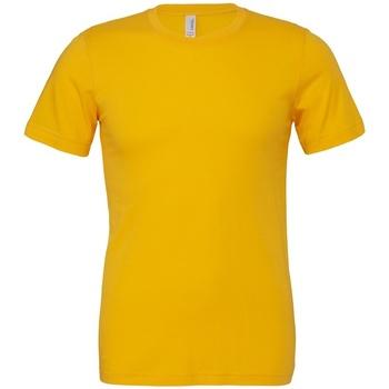 Vêtements T-shirts manches courtes Bella + Canvas CV3001 Jaune