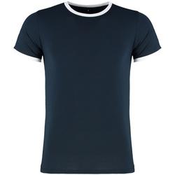 Vêtements Homme T-shirts manches courtes Kustom Kit KK508 Bleu marine / blanc