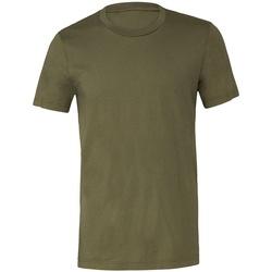 Vêtements T-shirts manches courtes Bella + Canvas CV3001 Vert militaire