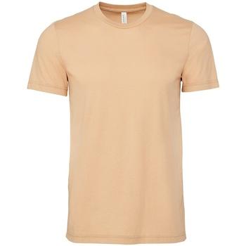 Vêtements T-shirts manches courtes Bella + Canvas CV3001 Beige