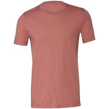 Vêtements T-shirts manches courtes Bella + Canvas CV3001 Mauve
