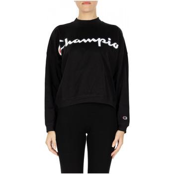 Vêtements Femme Sweats Champion HIGH NECK T-SHIRT kk001-nbk
