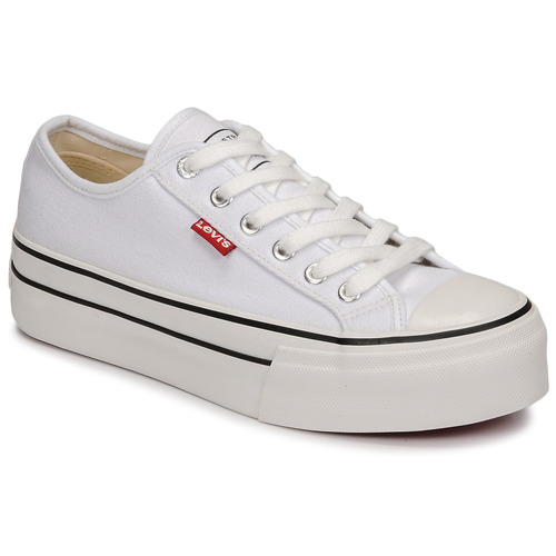Chaussures Fille Baskets basses Levi's HIGH BALL Blanc