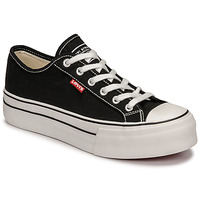Chaussures Fille Baskets basses Levi's HIGH BALL Noir