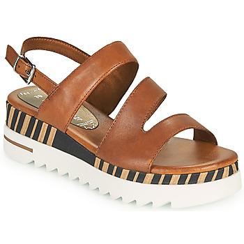 Chaussures Femme Sandales et Nu-pieds Marco Tozzi ANTINI Cognac