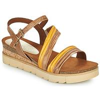 Chaussures Femme Sandales et Nu-pieds Marco Tozzi LIZZA Cognac