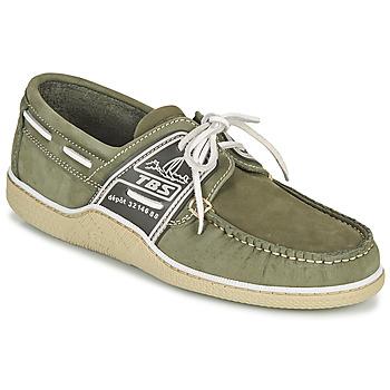 Chaussures Homme Chaussures bateau TBS GLOBEK Vert