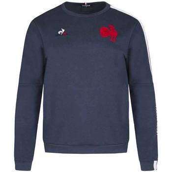 Vêtements Femme Sweats Le Coq Sportif Sweat rugby France Rugby prése Bleu
