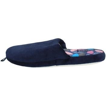 Chaussures Femme Chaussons De Fonseca ROMA TOP I W507 BLEU