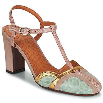 Chaussures Femme Escarpins Chie Mihara INMA Beige / Rose / Doré