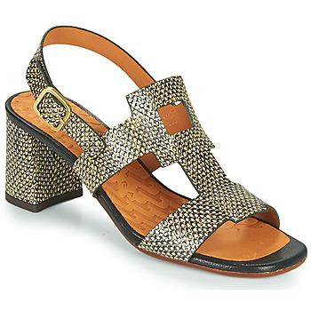 Chaussures Femme Sandales et Nu-pieds Chie Mihara LUSCA Noir / Beige
