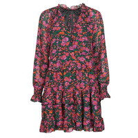 Vêtements Femme Robes courtes Moony Mood NOMINA Noir / Rose