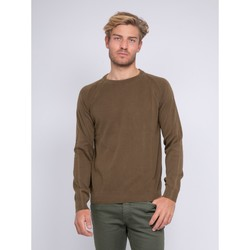 Vêtements Homme Pulls Ritchie Pull fin col rond LAEROU Marron